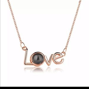 Jewelry - Valentine's Day projection necklace